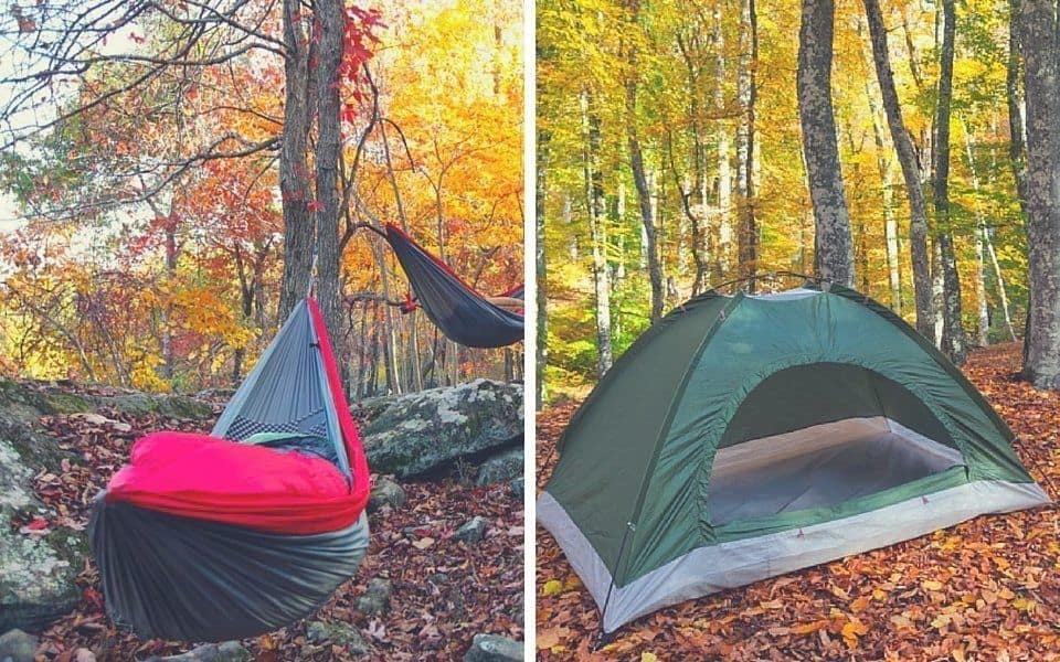 hammock vs  tent  which one should you choose   rh   outdoortricks